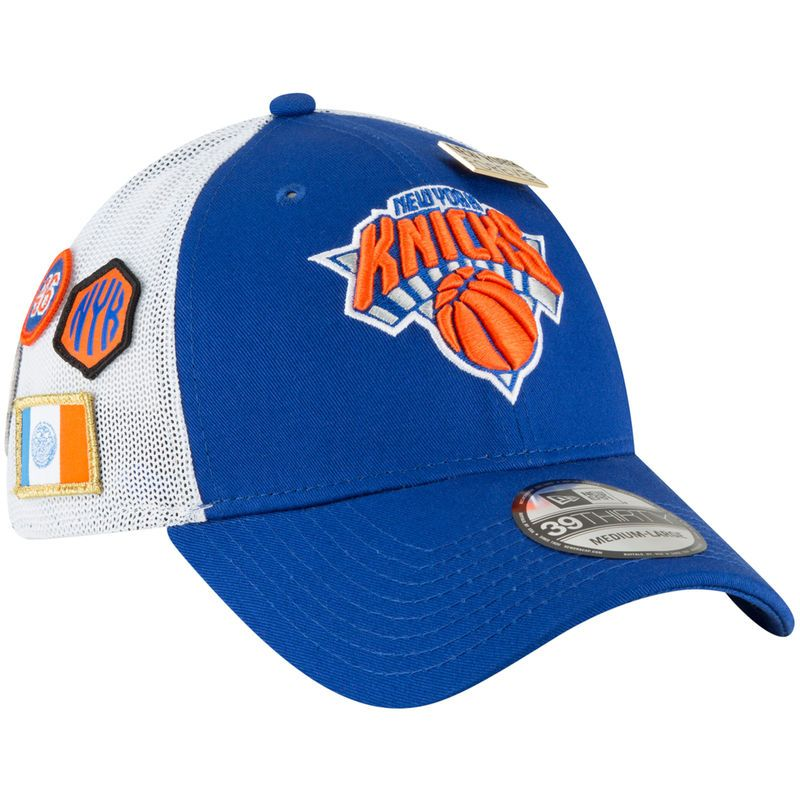 a787d5b211d7c6 New York Knicks New Era 2018 Draft 39THIRTY Fitted Hat – Royal ...