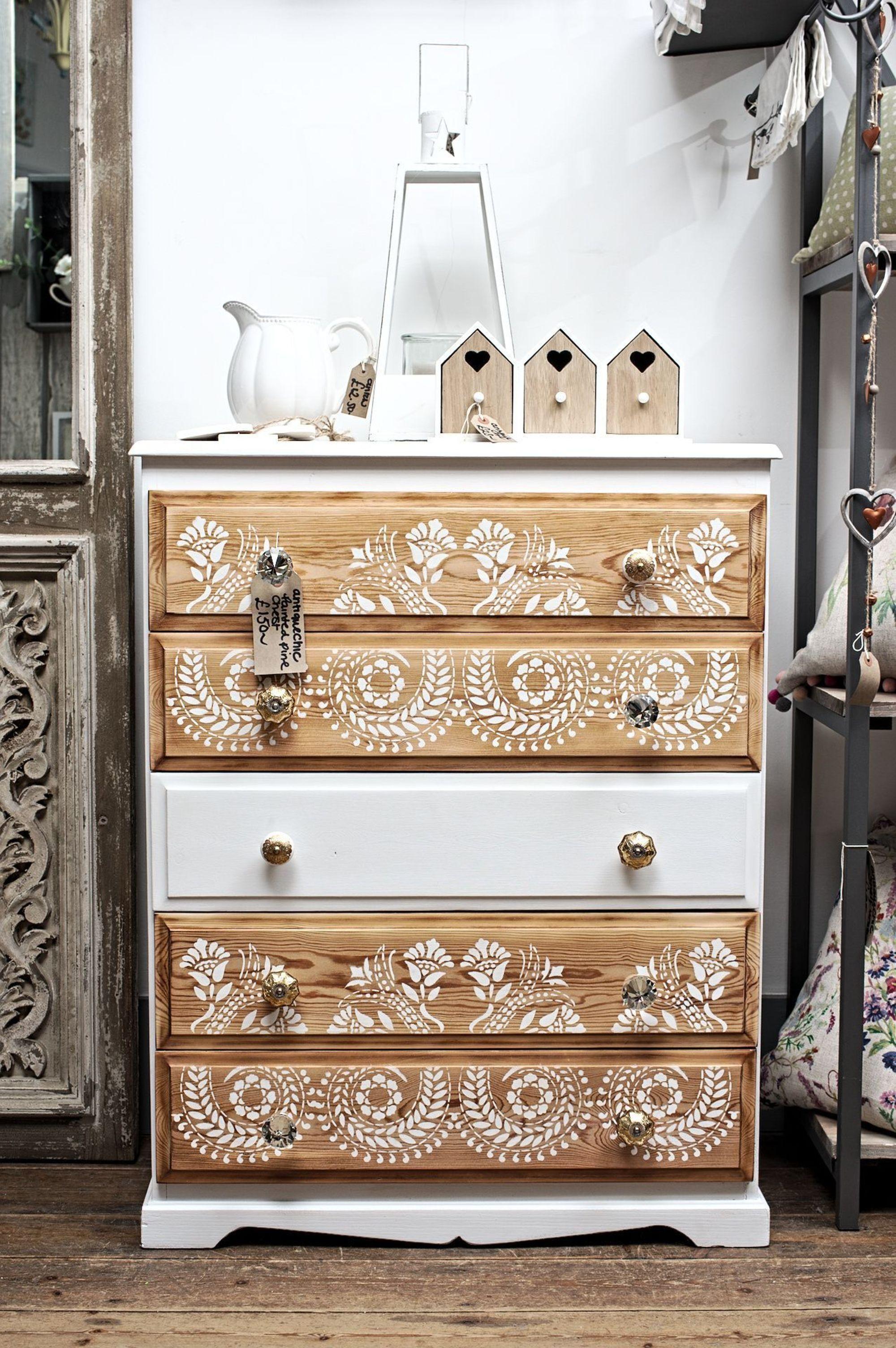 Photo of DIY : 12 meubles relookés qui donnent des idées