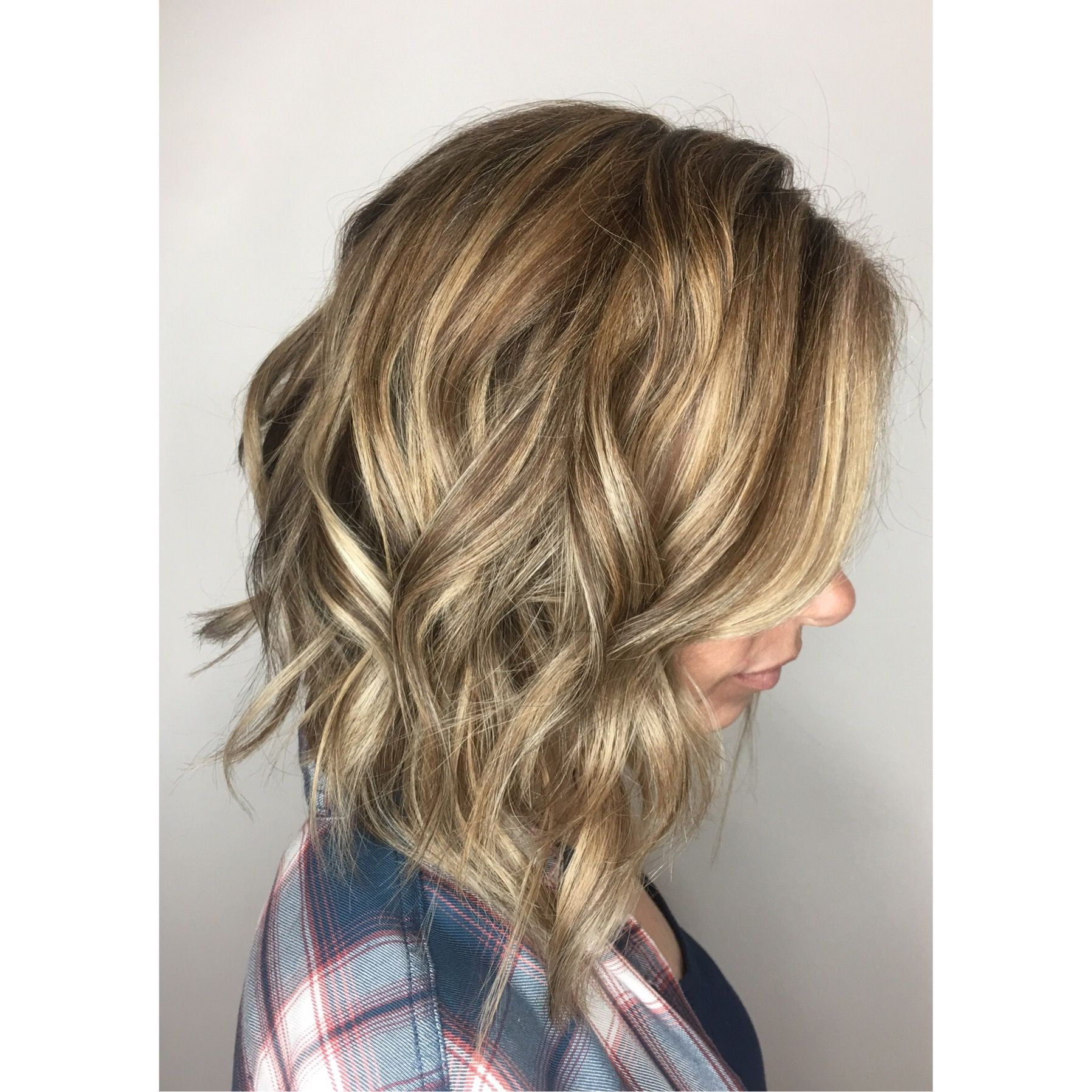 Bespoke Lob And Hair Color Tape In Hair Extensions Wexford