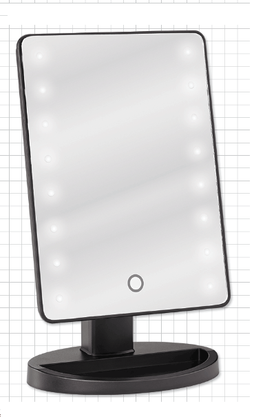 LED Backlit Mirror for Tabletops in 2019 Mirror with led