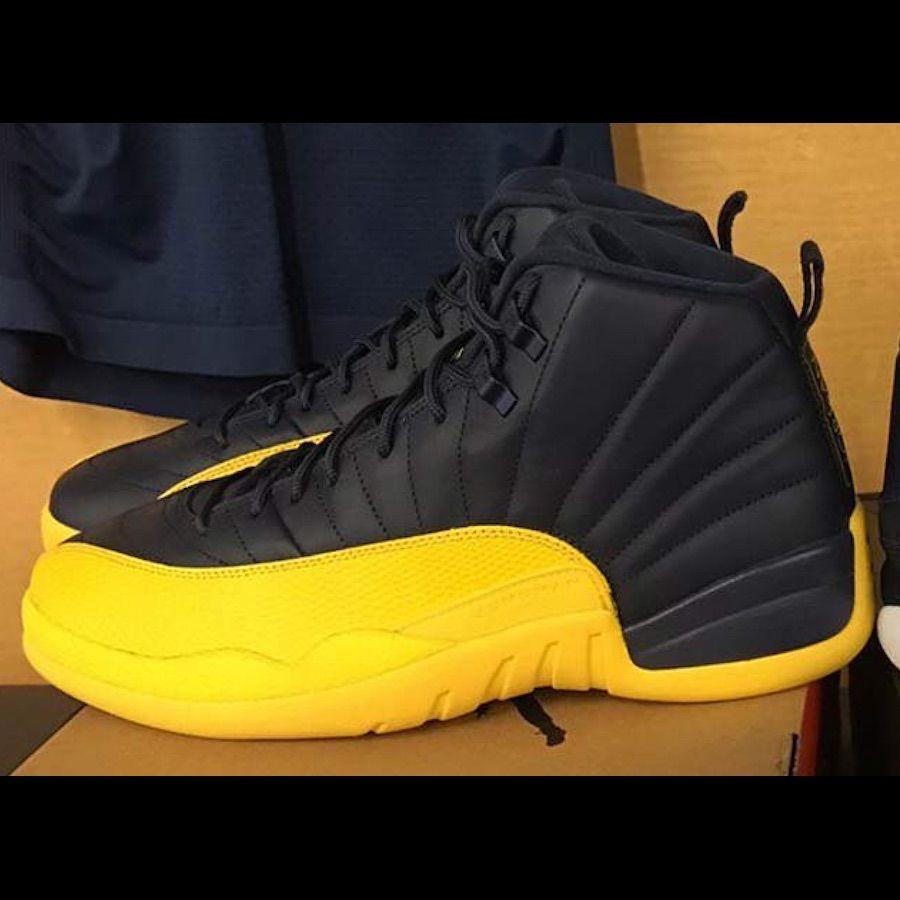 Jordan Shoes | Air Jordan 12s Yellow And Black | Color