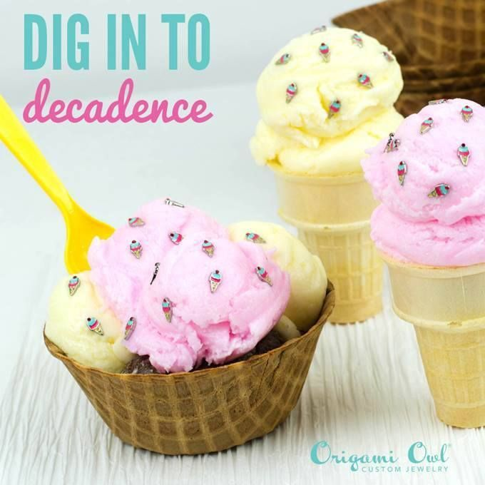 Origami Owl jewelry. We have just the topping for the perfect outfit. Dig in and look! Just click on the pic