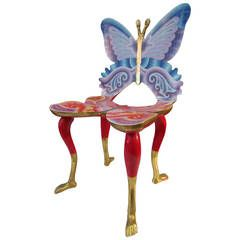 """Pedro Friedeberg """"Butterfly' Chair (Silla-Mariposa), Mexico City, 1973"""
