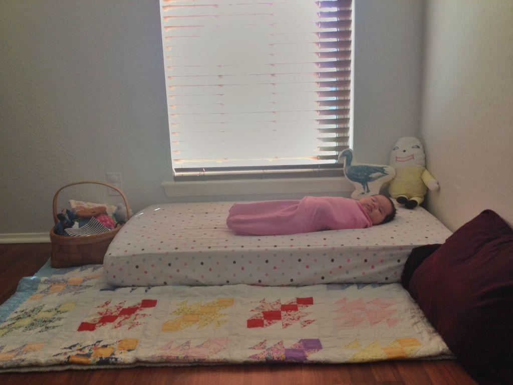 Montessori Inspired Floor Bed Floor Bed Montessori Infant Room Bed