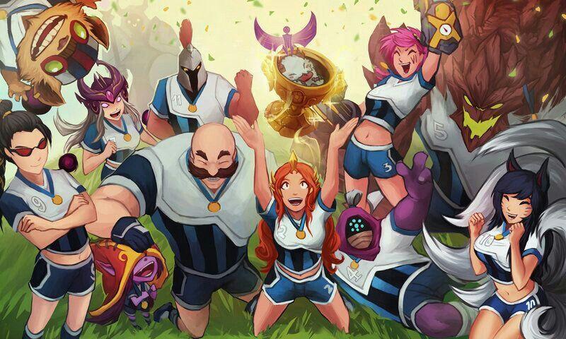 Ziggs Syndra Vayne Pantheon Braum Leona Vi Jax Malphite And Ahri Soccer Skins Ever Pantheon League Of Legends Lol League Of Legends League Of Legends