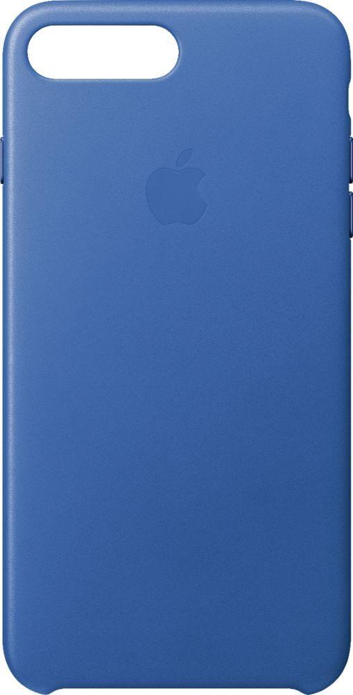 Best Buy Apple Iphone 8 Plus 7 Plus Leather Case Electric Blue Mrg92zm A Apple Iphone Iphone Case Covers Iphone 8 Plus