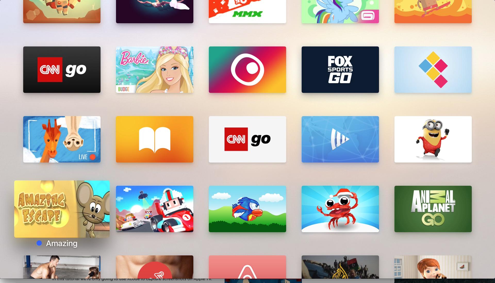 Apple TV Apps | Apple TV (tvOS) UI/UX & App Icon Designs
