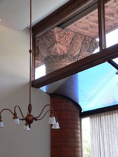 The guaranty building interior louis sullivan louis - Interior design schools buffalo ny ...
