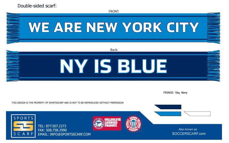 Mls Scarf Template Google Search