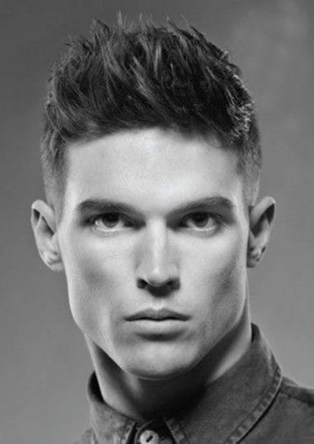 Fine Spiked Hair With Undercut Sides Handsome Hair Pinterest Short Hairstyles Gunalazisus