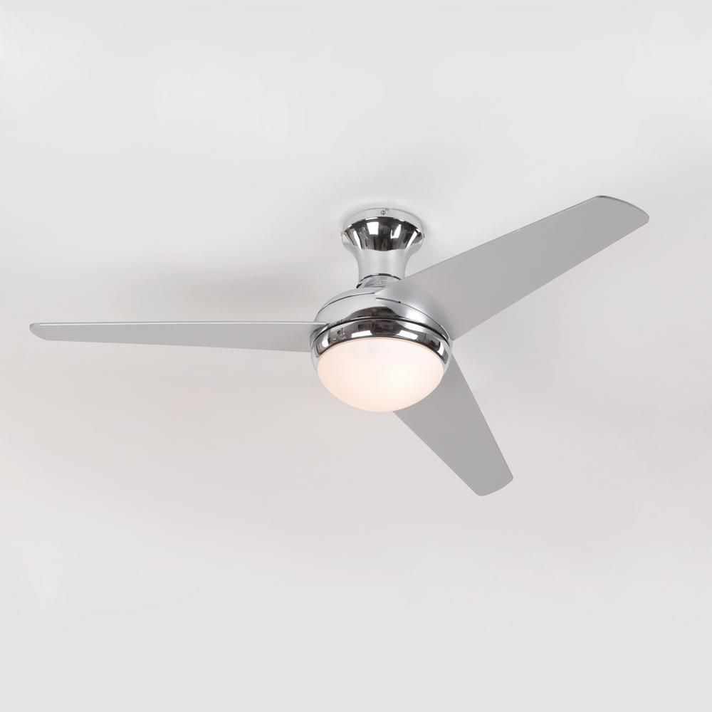 Yosemite home decor adalyn 48 in chrome ceiling fan with