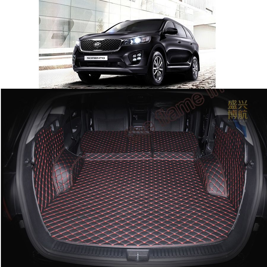 Husky Liners 98691 Fits 2016-20 Kia Sorrento Weatherbeater Front /& 2nd Seat Floor Mats Black