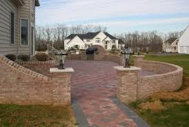 Image result for walled patio images