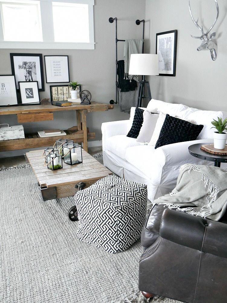 Nice Great Artistic Black And White Modern Living Room Ideashttps Homeofpondo Com Great Artistic Modern White Living Room Gold Living Room Black Living Room