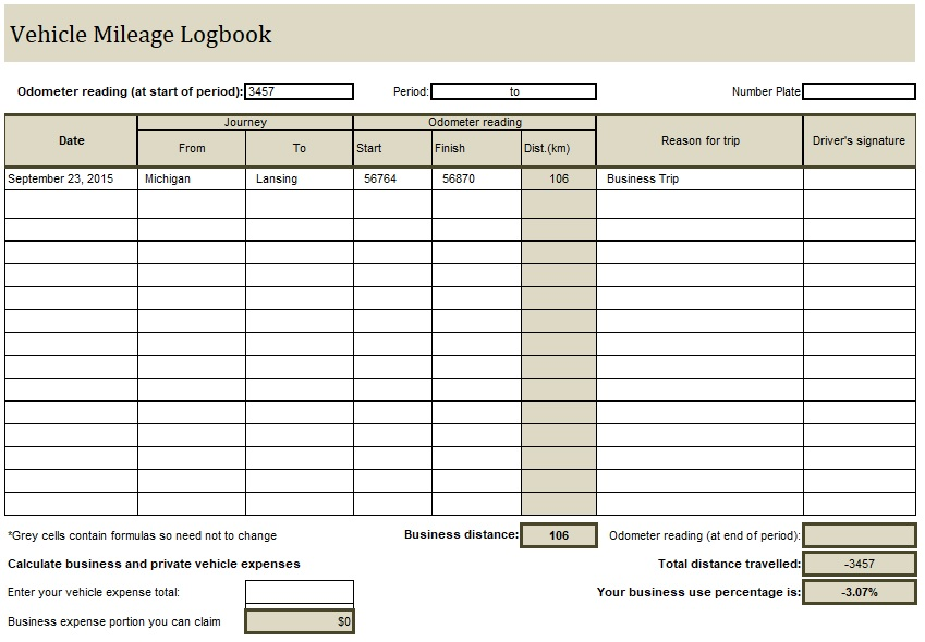 Fuel Log Book Template Excel In 2020 Book Template Templates Excel