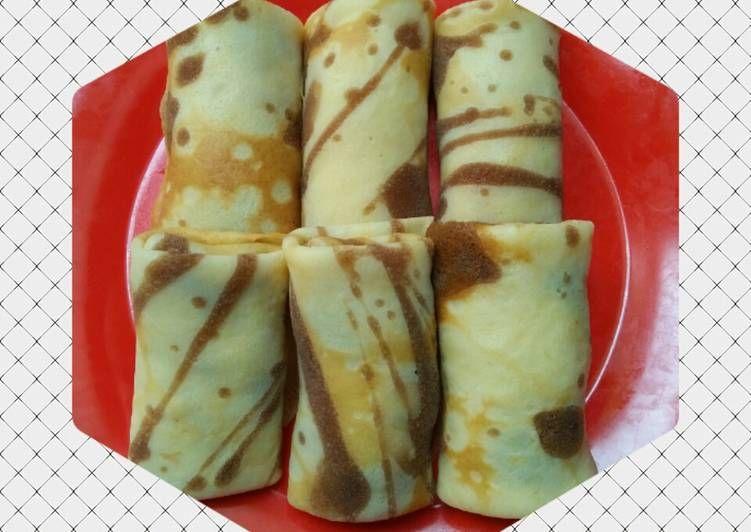 Resep Dadar Gulung Pisang Coklat Oleh Pawon Ummi Fayadh Resep Makanan Pisang Resep