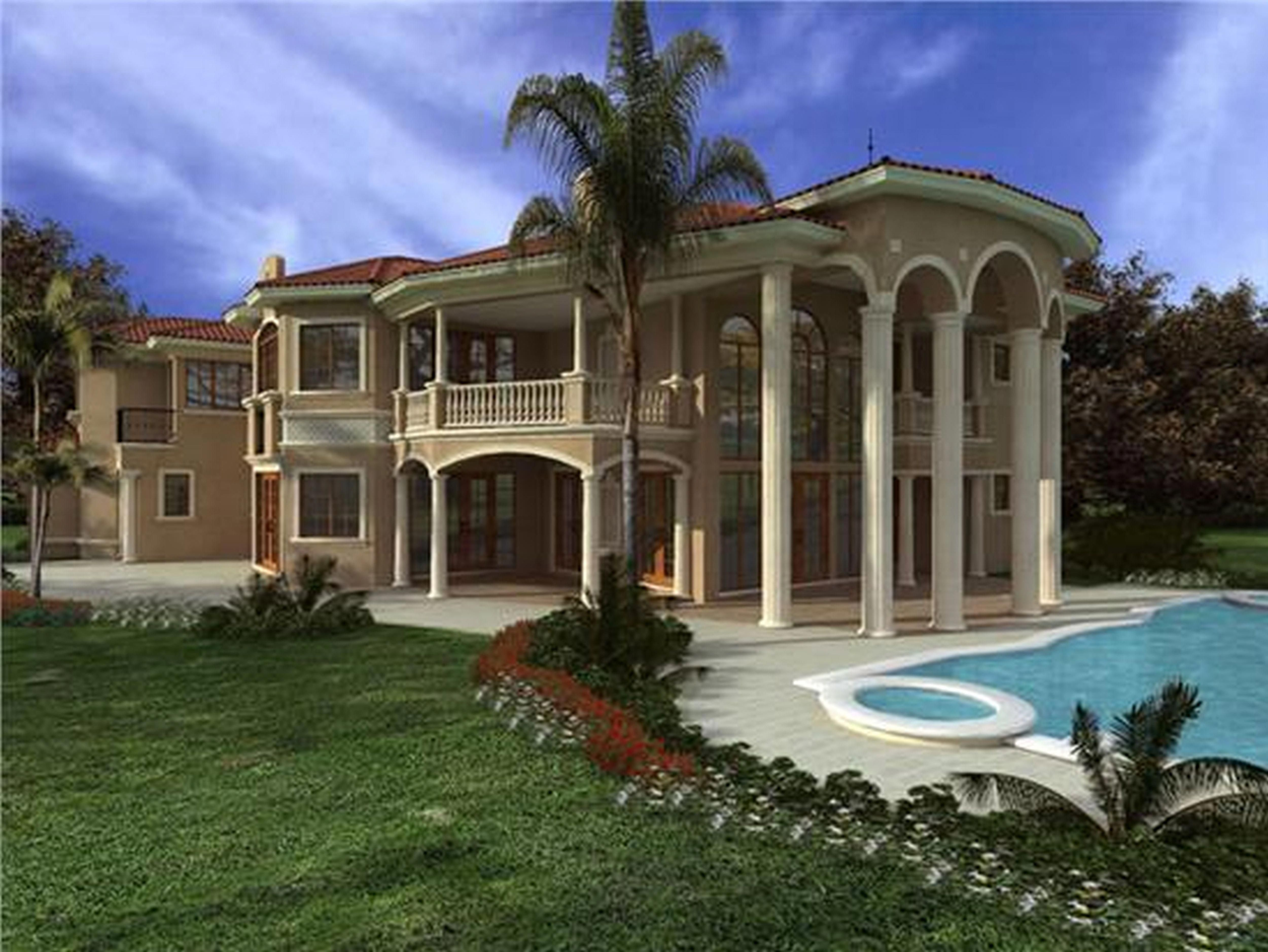 Fame Tropical House Designs And Floor Plans With Modern Style Glamorous Luxury Modern Classic G House Designs Exterior Country House Design Luxury House Plans