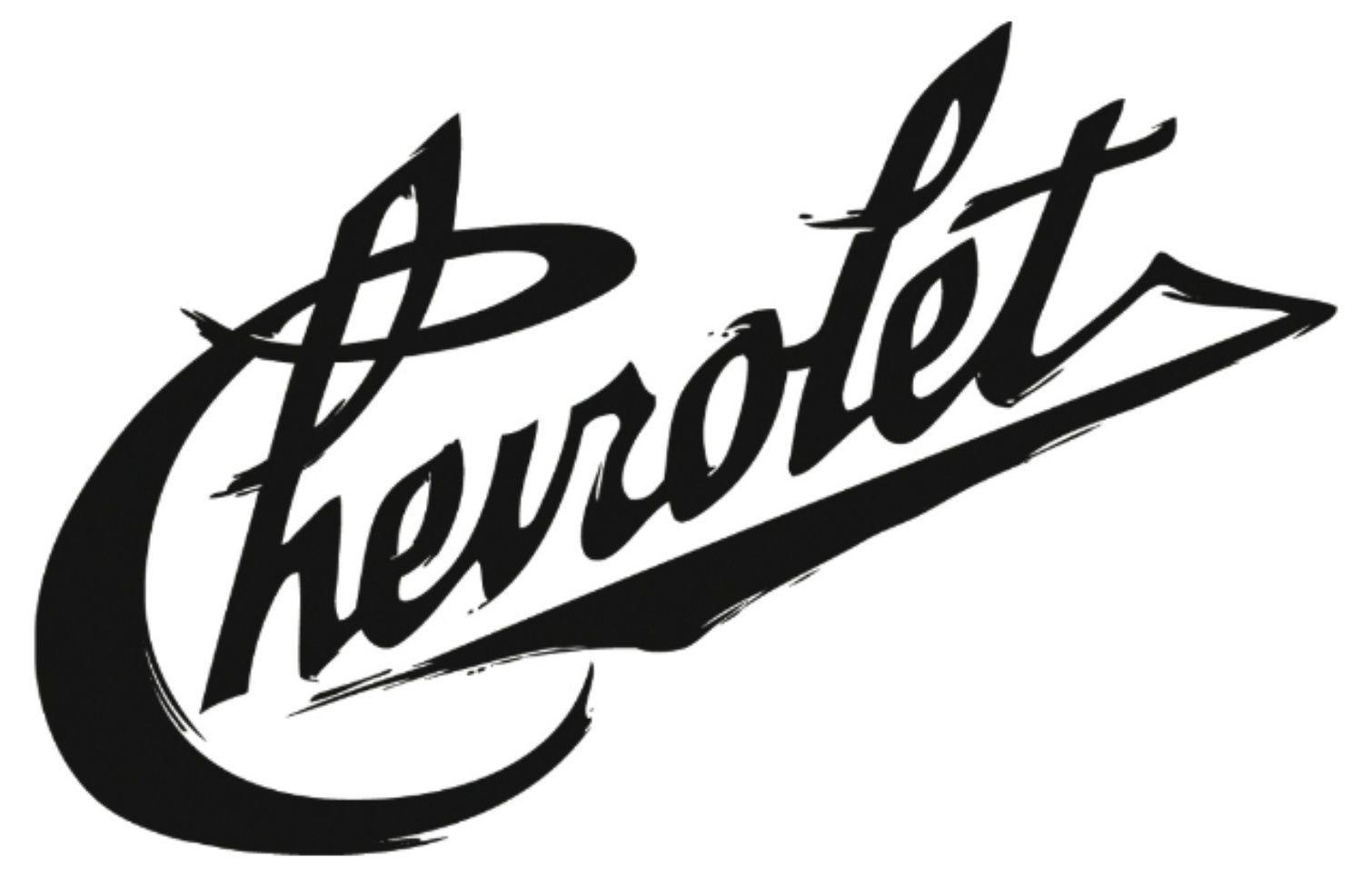Chevy Chevrolet Graffiti Lettering Symbol Fast Design Vinyl Decal