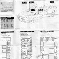 Mercedes C230 Fuse Box Diagram Best Fuse Box 1998 2005
