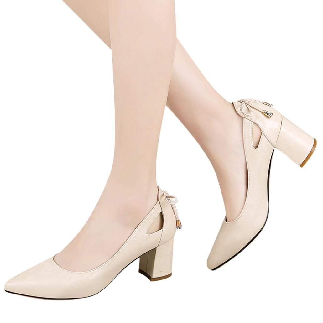 00b07c1f36df5 Stiletto High Heel Shoes for Women,Closed Toe Sandals Pointed Toe ...