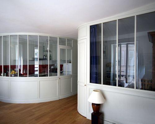 verri re d 39 int rieur bois cloison vitr e la manufacture nouvelle s parer sans cloisonner. Black Bedroom Furniture Sets. Home Design Ideas