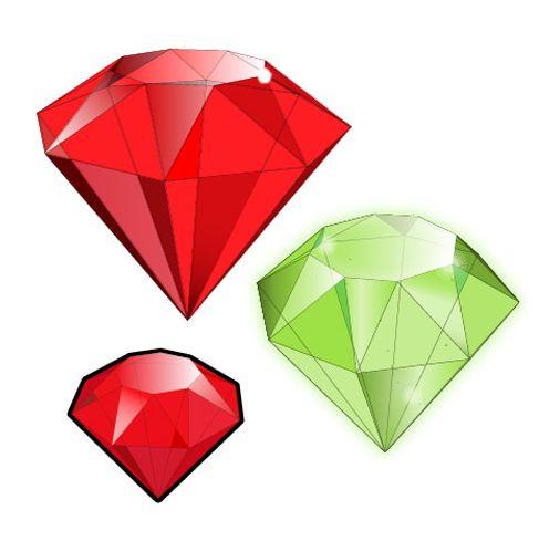 How To Create 3d Gemstones Using Adobe Illustrator And Google