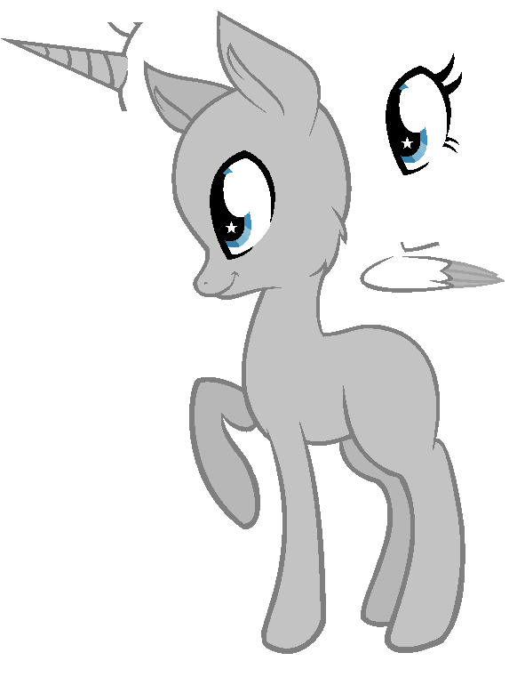 Pony Adoptable Base By Secretmonsters