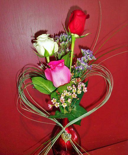 Flower Roses Pinterest: Best 25+ Valentine Flower Arrangements Ideas On Pinterest