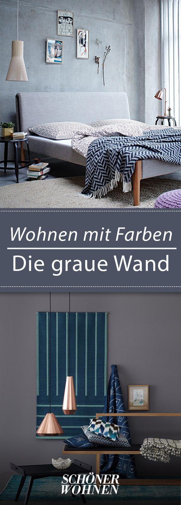 Grau Als Wandfarbe Wandfarbe Wohnzimmerfarben Und Schoner Wohnen Wandfarbe