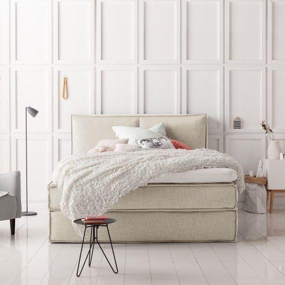 ... Einrichten Namast´ay In Bed   Schwarz Weiß Look Im Schlafzimmer Lädt  Zum   Schlafzimmer ...