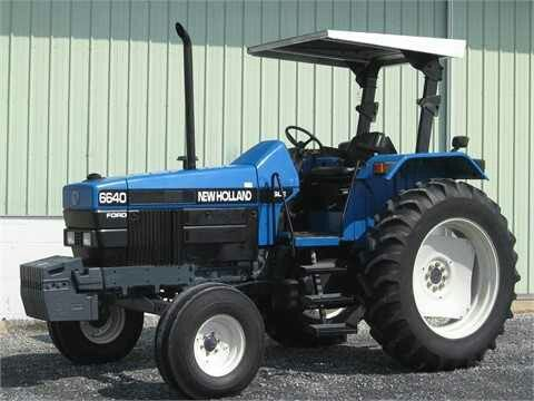 1997 New Holland 6640 Ford News Tractors New Holland