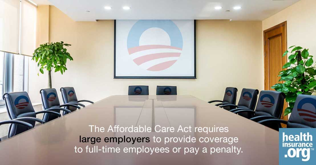 Are employers required by the affordable care act to