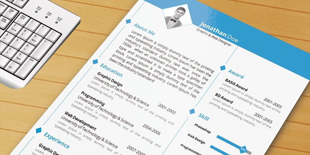 Resume Template With Ms Word File Ultimate Collection of Free - free resume printer