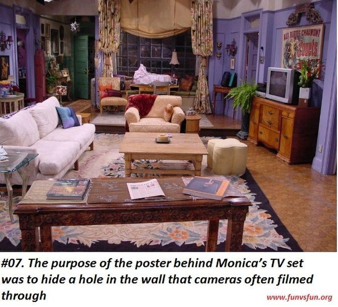 Friends Tv Show Unknown Facts Fun Vs Fun Friends Apartment