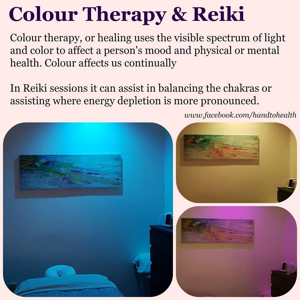 Colour Therapy & Reiki   Reiki therapy Massage therapy ...