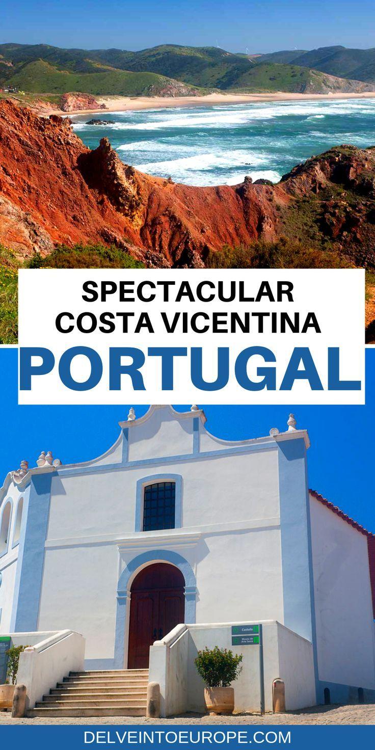 Costa Vicentina, Algarve, Portugal: Stunning Beaches & Exhilarating Coastal Walks #bestplacesinportugal