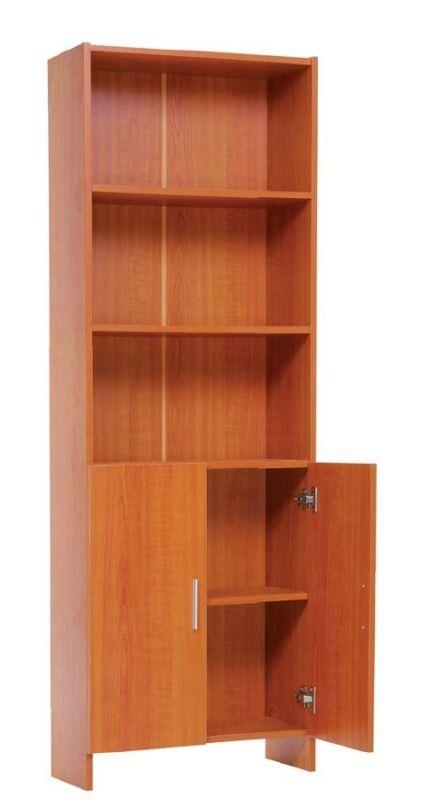 muebles y estanteras acabado en aglomerado melaminizdo estantes fijos y puertas
