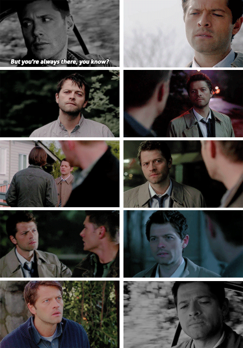 But you're always there, you know? #spn #destiel