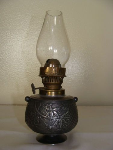 Antique Miniature Silverplate Limited Edition Meriden Oil Lamp 19th Century Ebay Oil Lamps Unique Light Fixtures Antique Oil Lamps