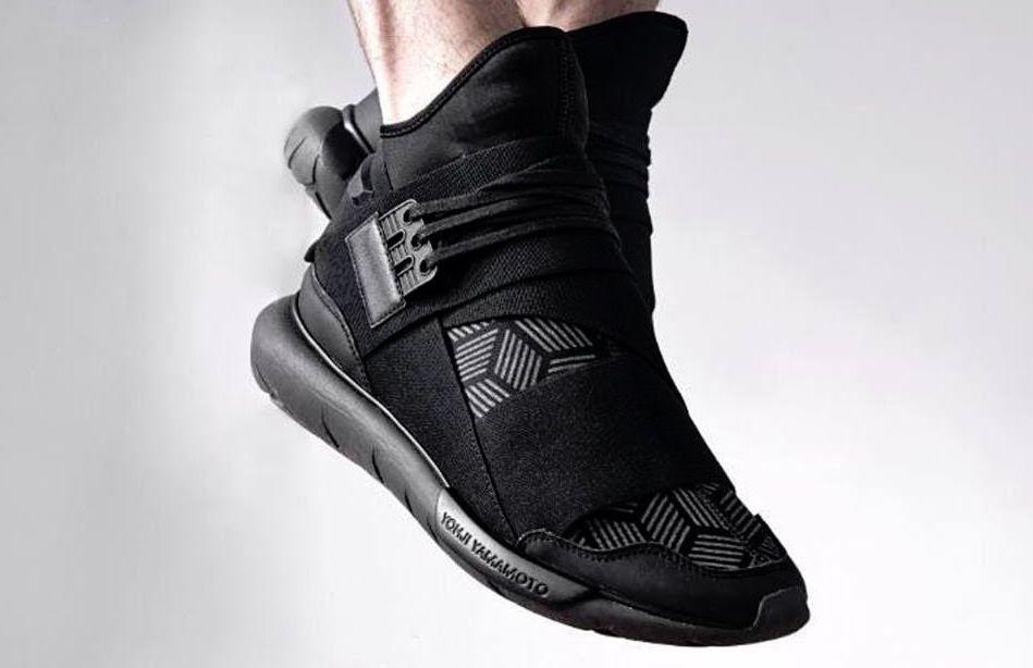 2f838231b A New Triple Black Colorway Of The adidas Y-3 Qasa High • KicksOnFire.com