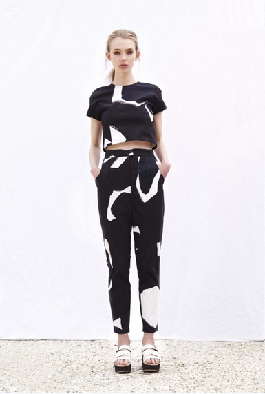 Kawaii Tailored Printed Pants