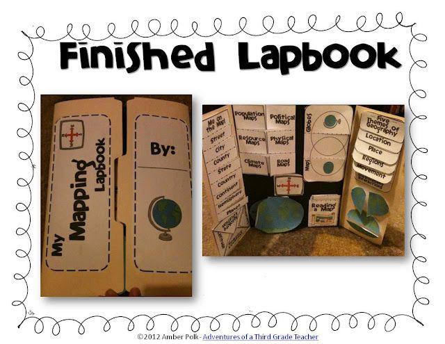 mapping lapbook