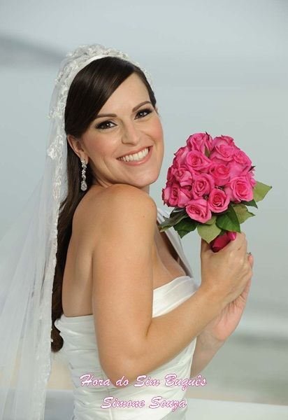 Noiva Isabelle Pellegrini