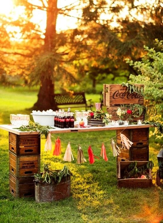 75 fruit boxes decoration ideas for a rustic wedding – living ideas and decoration