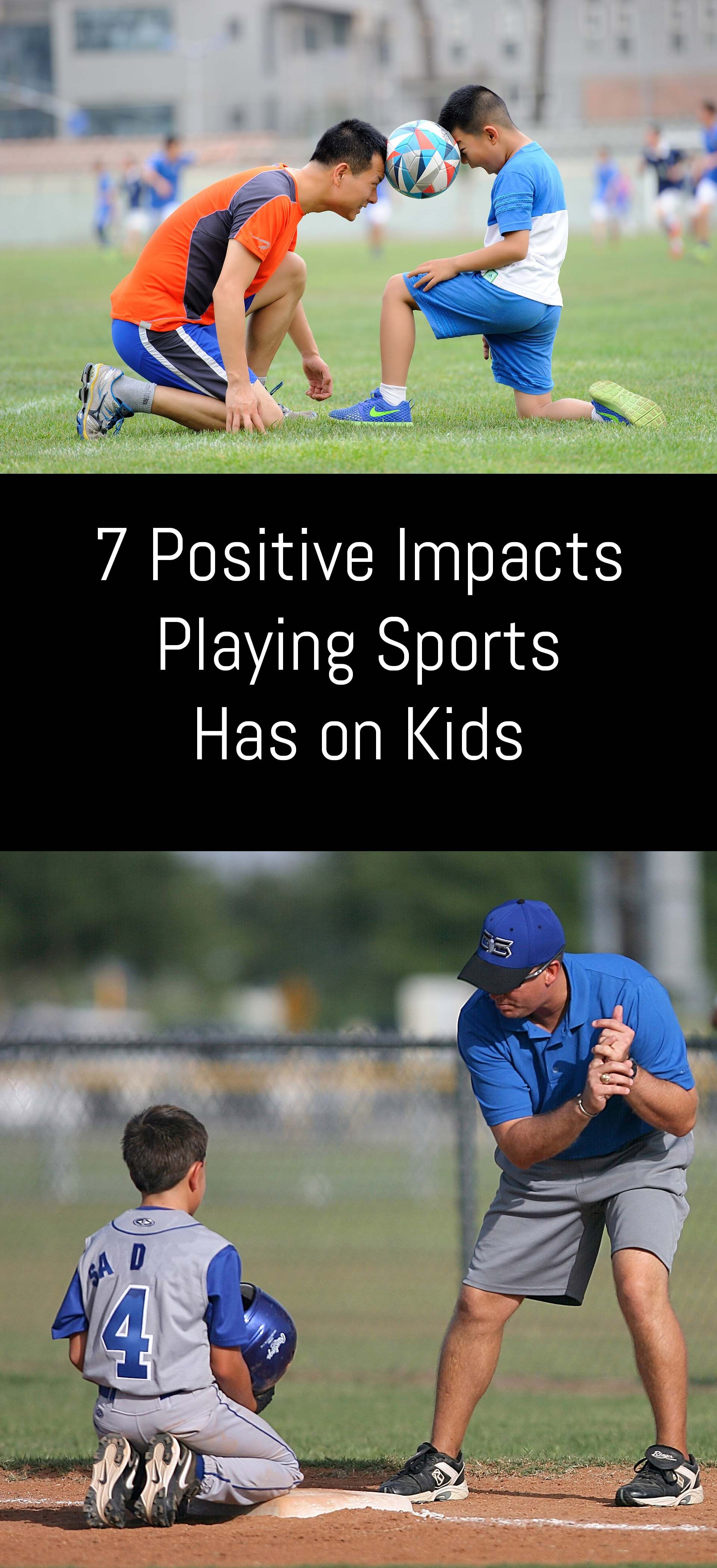 Research has proven over the years that sports in general have several positive impacts for young players that transfer to the home and classroom as well.