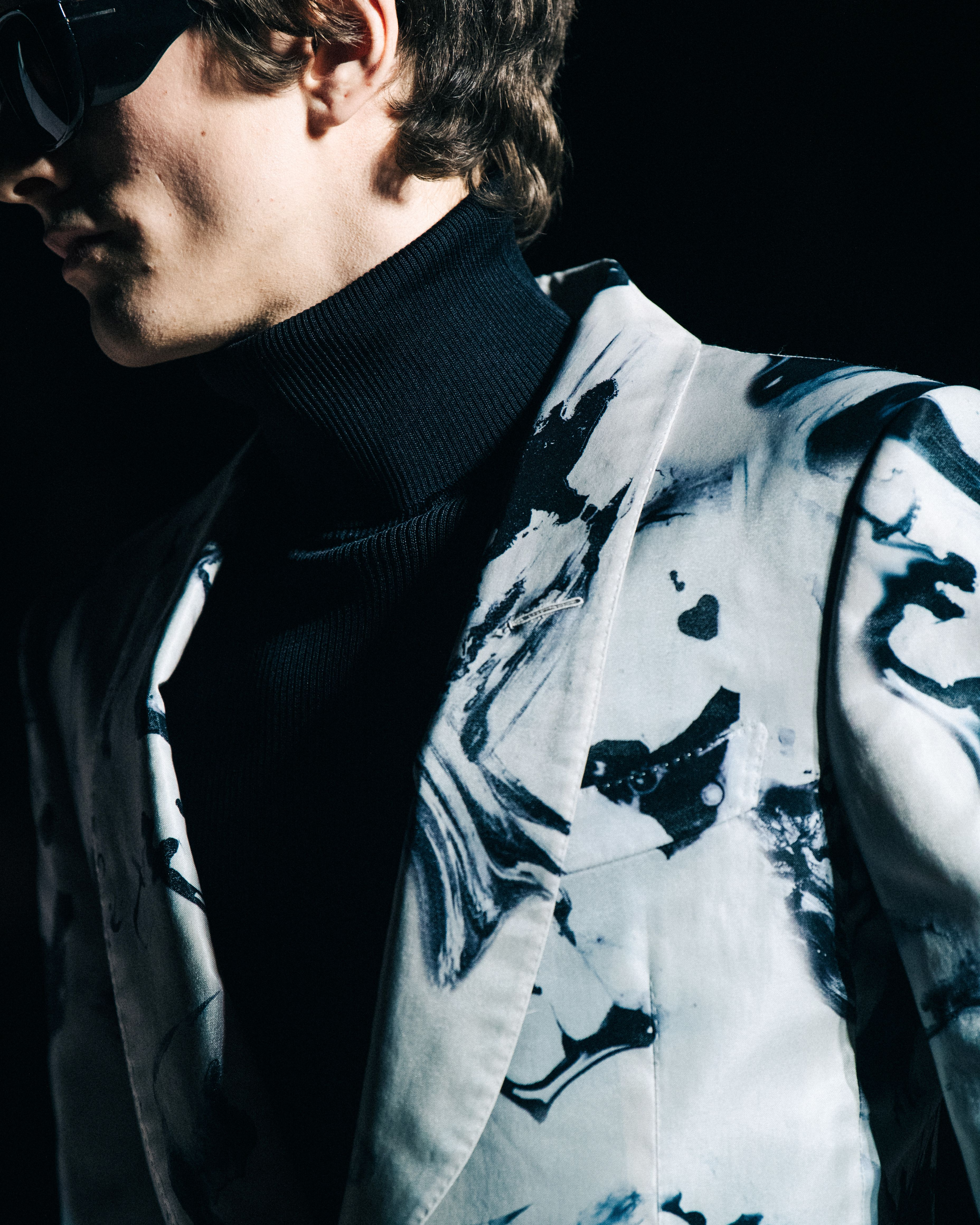 9495ab4a30e An iconic Men s evening look from the TOM FORD AW19 Show.  TOMFORD   TOMFORDAW19  NYFW
