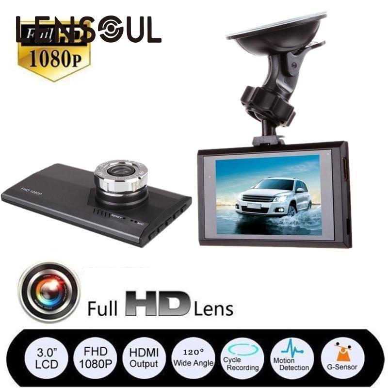 "3/"" Full HD 1080P Car DVR CCTV Dash Camera G-sensor Vehicle Video Cam Recorder"