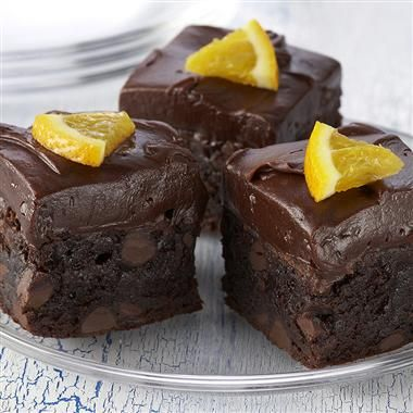 Orange-Kissed Brownies