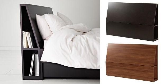 La spalliera per letto matrimoniale Ikea: pratica e di design   casa ...