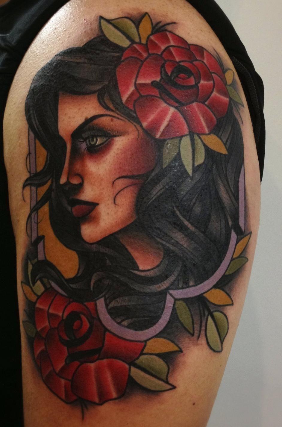 Red Dagger Tattoo : dagger, tattoo, Tattoos